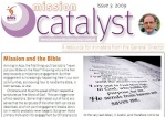 Mission Catalyst issue on Mission and the Bible