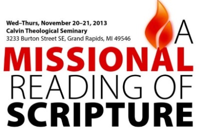 A Missional Reading of Scripture conference