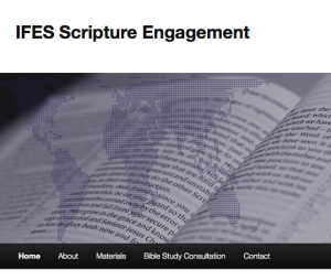 IFES Scripture Engagement website